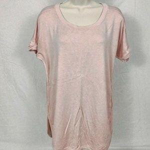 Matty M Women's Roll Cuff Short Sleeve T-Shirt